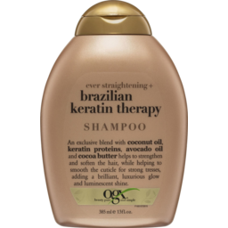 Photo of Ogx Straightening Brazilian Keratin Therapy Shampoo 385ml