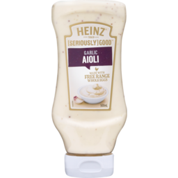 Photo of Heinz Seriously Good Salad Dressings Aioli Squeezy 500ml 500ml
