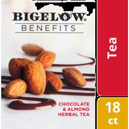 Photo of Bigelow Benefits Chocolate & Almond Herbal Tea Bags - 18 Ct