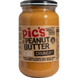 Photo of Pic's Peanut Butter Crunchy No Salt 380g