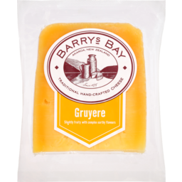 Photo of Barrys Bay Cheese Gruyere 125g