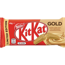 Photo of Nestlé Kit Kat Gold Bar 45g