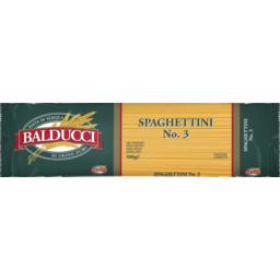 Photo of Balducci Spaghettini No.3 500g