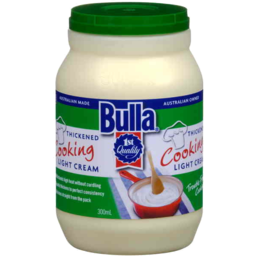 Photo of Bulla Thickened Cooking Light Cream 300ml