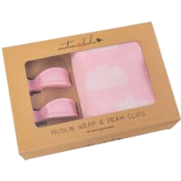 Photo of Muslin & Clip Pack Pink Clouds