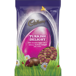 Photo of Cadbury Turkish Delight Egg Bag 130g 130g