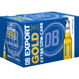Photo of Export Gold Extra Low Carb 330ml Bottles 24 Pack