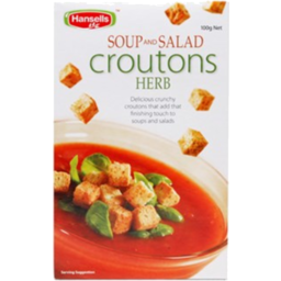 Photo of Hansells Soup And Salad Croutons Herb 100g