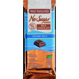 Photo of Well Naturally Nsa Milk Chocolate Creamy Milk 90g