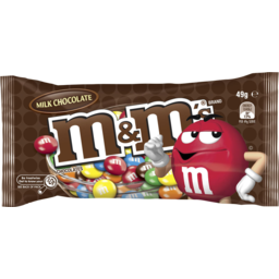 Photo of M&M's M&Ms Milk Chocolate 49g Bag