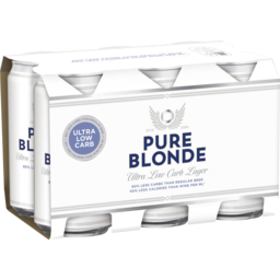 Photo of Pure Blonde Can 375ml 6 Pack