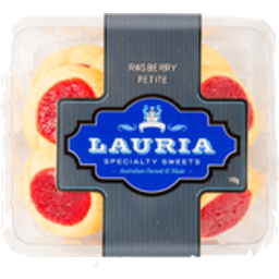 Photo of Lauria Biscuits Raspberry Petite (190g)