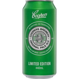 Photo of Coopers Original Pale Ale 440mL Can