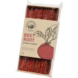 Photo of Valley Produce Co. Artisan Crackers Beetroot 130g