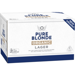 Photo of Pure Blonde Organic Lager 24x330ml