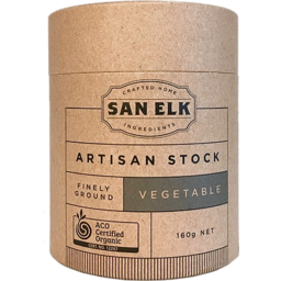 Photo of San Elk Artisan Vegetable Stock Powder 160gm