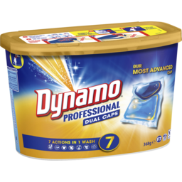 Photo of Dynamo Professional 7 In 1 Dual Capsule Washing Laundry Detergent, 16