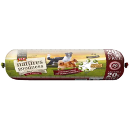 Photo of Natures Goodness Grain Free Roast Turkey And Steamed Vegetables Chilled Mature Dog Food 2.15kg