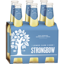 Photo of Strongbow Lower Carb Apple Cider Stubbies