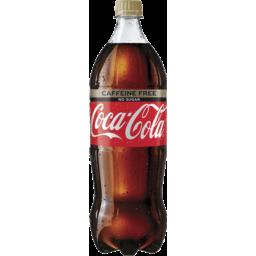 Photo of Coca Cola No Sugar Caffeine Fr 1.25lt