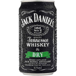 Photo of Jack Daniel & Dry Can