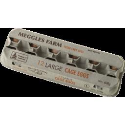 Photo of Meggles Farm Eggs Large 50g 600g