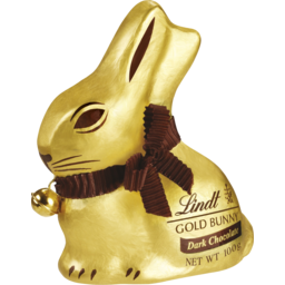 Photo of Lindt Gold Bunny Dark Chocolate 100g