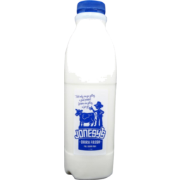 Photo of Jonesy's Dairy Whole Milk 1L