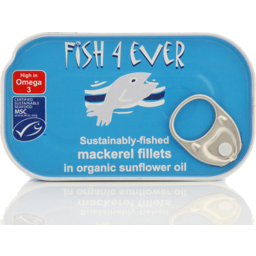 Photo of Fish 4 Ever Mackeral Fillets 180g