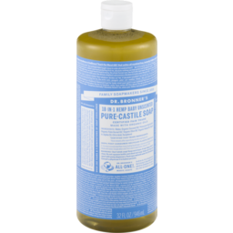 Photo of Dr Bronner's Pure-Castile Liquid Soap - Baby Unscented