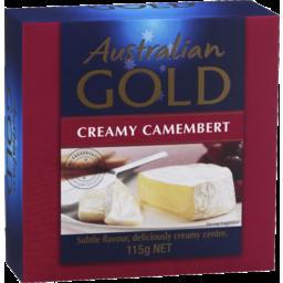 Photo of Australian Gold Long Life Camembert 115gm