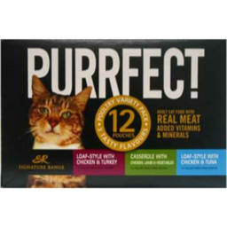 Photo of WW Cat Food Pouch Poultry 12 Pack