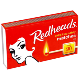 Photo of Redheads Extra Long Safety Matches 45
