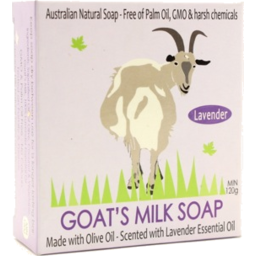 Photo of Goats Milk Soap - Lavender 120g