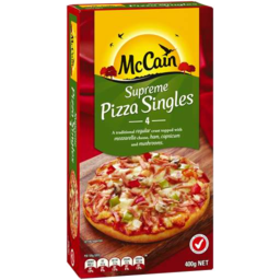 Photo of McCain Pizza Singles Supreme 400g