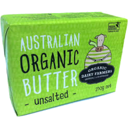Photo of Australian Organic Unsalted Butter 250g