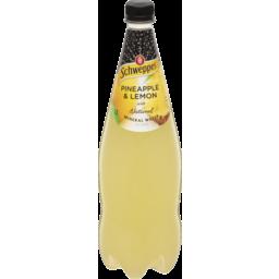 Photo of Schweppes Mineral Water Lemon Pineapple 1.1lt