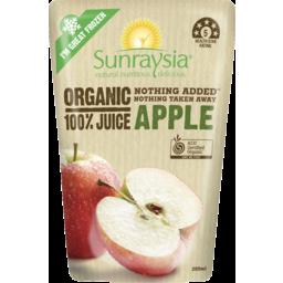Photo of Sunraysia Organic Apple Juice 200ml