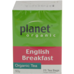 Photo of Planet Organic - English Breakfast - 25 Tea Bags