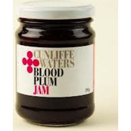 Photo of Cunliffe Waters Blood Plum Jam 290g
