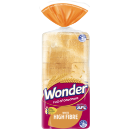 Photo of Wonder White Wonder High Fibre White Sliced Bread Sandwich 700g