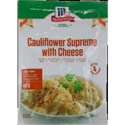 Photo of McCormick Produce Partners Cauliflower Cheese Supreme 40g