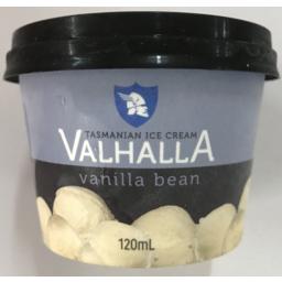 Photo of Valhalla Mini Ice Cream Vanilla Bean 120ml
