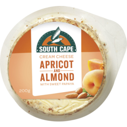 Photo of South Cape Cream Cheese Apricot & Almond 200g