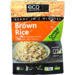 Photo of Eco Organics Brown Rice 250g