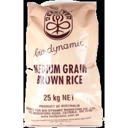 Photo of Demeter Rice - Brown Medium Grain