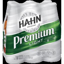 Photo of Hahn Premium Light Bottle 375ml 6 Pack