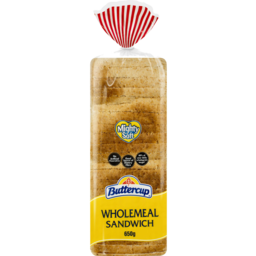 Photo of Buttercup Wholemeal Sliced Bread 650g
