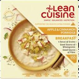 Photo of Lean Cuisine Breakfast Apple & Cinnamon Porridge 250gm