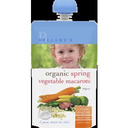 Photo of Bellamy's Organic Spring Vegetable Macaroni 110g